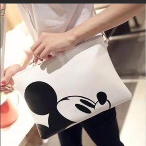 Handbags - Disney Mickey Vegan leather handbag New in bag
